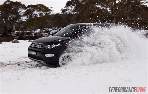land rover snow land rover discovery sport sd4 hse luxury review video