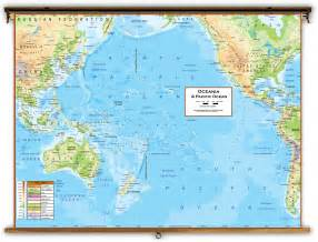 map of the oceans pacific map collection