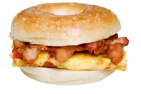 healthy fats bacon bacon or bagels higher at breakfast may be healthier