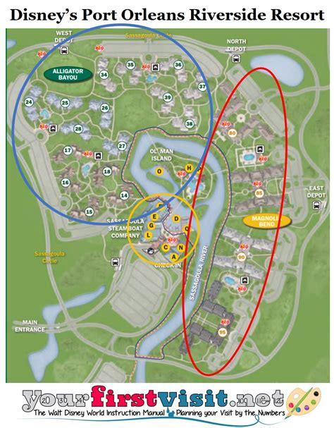 port orleans quarter map review disney s port orleans riverside resort