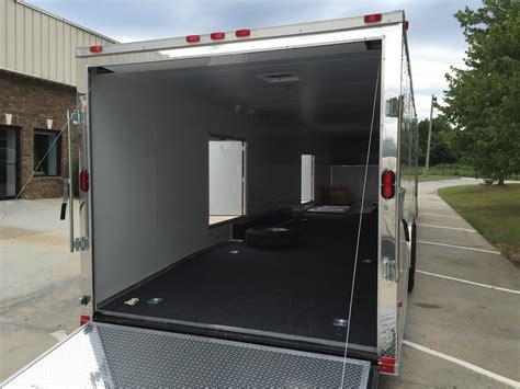 freedom 44� enclosed gooseneck trailer