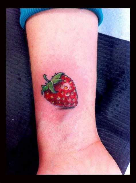 strawberry tattoos 19 strawberry images pictures and design ideas