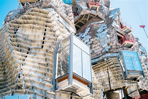 frank gehry frank gehry designed tower takes shape at luma arles in