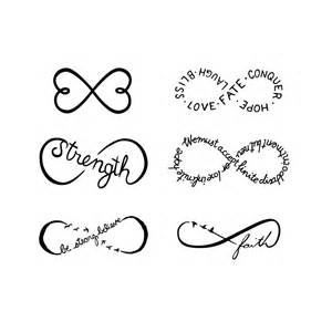 Infinity Symbol Text 50 Sketches Of Infinity Tattoos Drawings Golfian