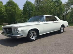 1963 Chrysler 300 For Sale 1963 Chrysler 300 Pacesetter For Sale In Buffalo