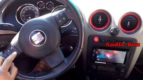 seat ibiza al volante controles de volante de seat ibiza fr con radio 2 din