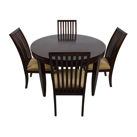 Dining Tables With 4 Chairs 75 Macy S Macy S Bradford Extendable Dining Table With 4 Chairs Tables