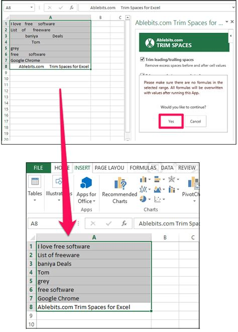 java pattern whitespace exle remove all leading trailing spaces from excel replace