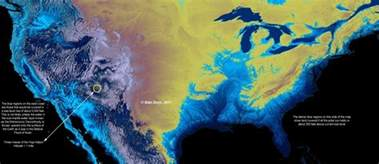 map of us after sea level rise millennium ark what s new