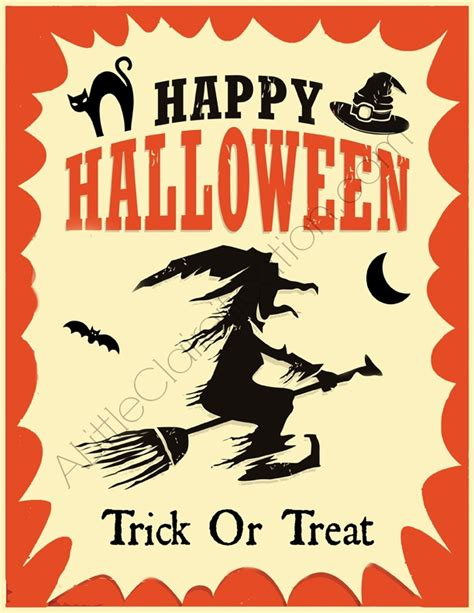 printable decorations halloween fun free halloween printables a little claireification