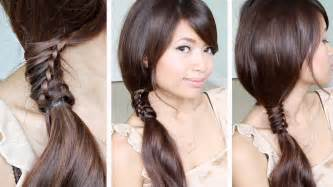 cute ponytail styles for medium hair images