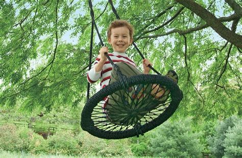 cool kids swings kids outdoor swings tree swings just b cause