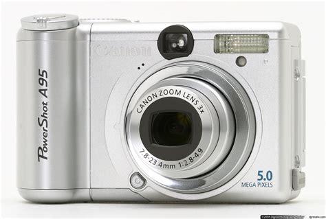 best canon powershot canon powershot a95 review digital photography review