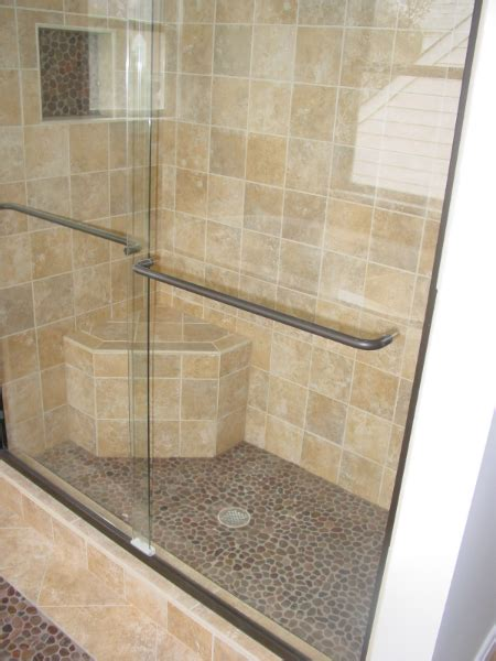 Shower Enclosure With Bench Cook Bros 1 Design Build Remodeling Contractor In
