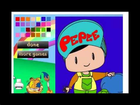 pepee boyama oyunlari pepee boyama oyunu youtube