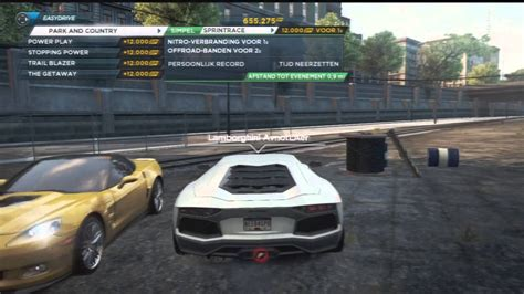 Need For Speed Most Wanted Lamborghini How To Get The Lamborghini Aventador Need For Speed Most