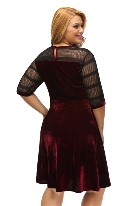 Swing Kleid Schwarz by 220 Bergr 246 223 E Mesh Einf 252 Velvet Swing Kleid Wenig Schwarz