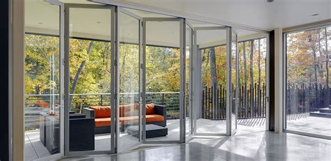 Aluminium Folding Patio Doors Aluminum Cranmore Windows And Doors