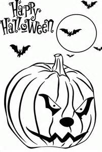 scary pics to color coloring pages free printable scary coloring home