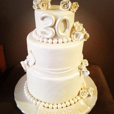 30th Anniversary Wedding by 30th Wedding Anniversary Cake Wedding Ideas