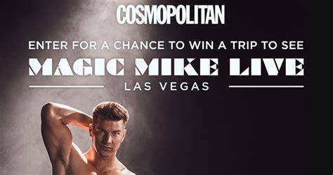 cosmopolitan magic mike live las vegas sweepstakes cosmopolitan com vegaslive - Las Vegas Sweepstakes