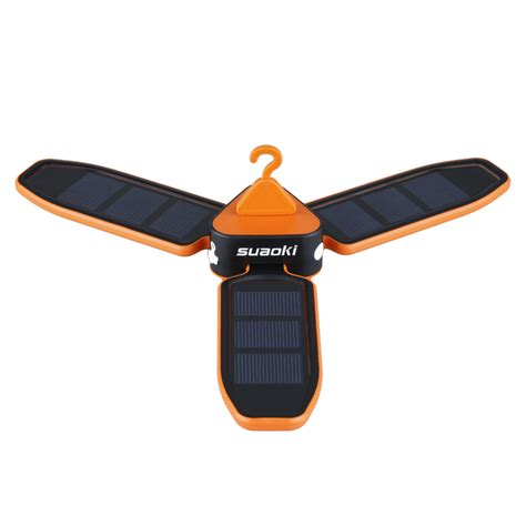 Solar Portable Light Collapsible Waterproof Led Solar Usb Light Cing