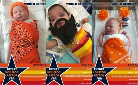 Houstons Gift Card - even houston s newborns are rooting for the astros houston chronicle