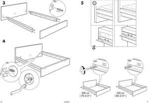 ikea leirvik bed frame screws easydita ikea