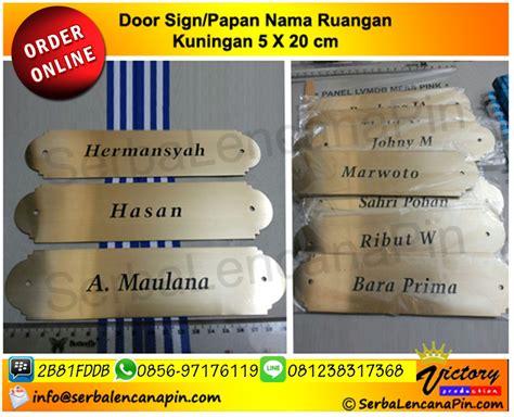 papan nama ruangan kuningan 0812 38317368