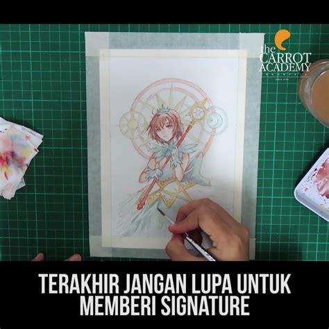 tutorial menggambar orang dengan mudah carrot tutorial menggambar kinomoto sakura dengan cat