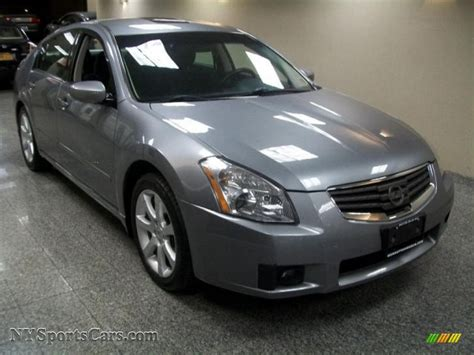 gray nissan maxima 2008 nissan maxima 3 5 se in precision gray metallic
