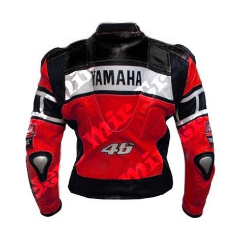 Special Price Jaket Sport Vrossi 46 yamaha 46 scooter motorbike leather jacket