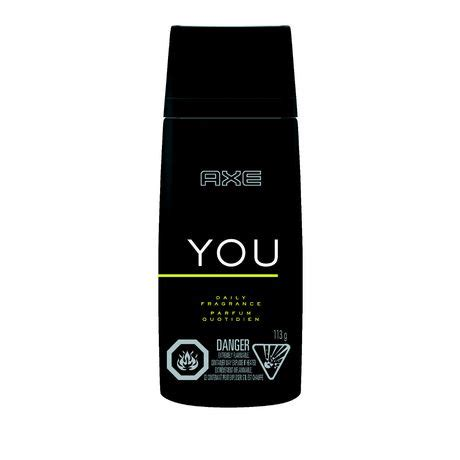 Parfum Axe You axe you daily fragrance 113g walmart ca