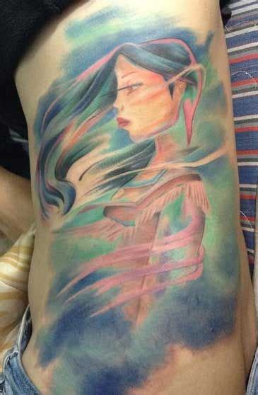 pocahontas tattoo 31 best images about tattoos on wave tattoos