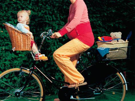 como llevar al bebe en bici