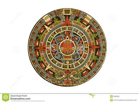 Calendario Azteca Significado Pdf Calendario Azteca Precolombino Sagrado Fotos De Archivo