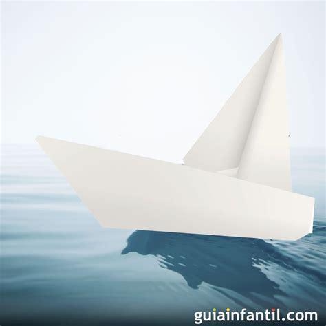 como hacer un barco origami de papel papiroflexia c 243 mo hacer un barco velero en papel