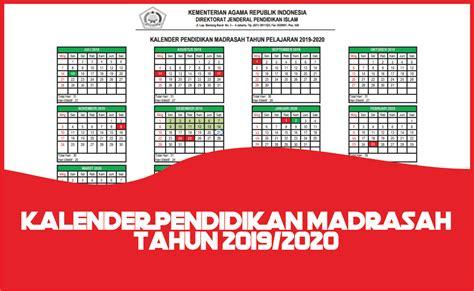 kalender pendidikan ramadrasah  dirjen pendis guruorid