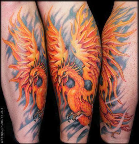 tattoo phoenix hours phoenix tattoos on calf tattoonow tattoos brandon