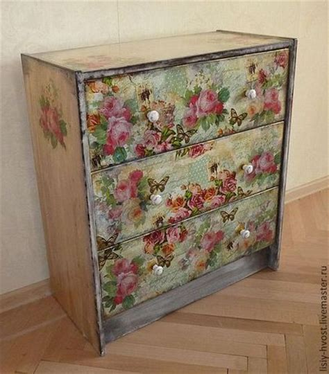 Decoupage Wood Furniture -
