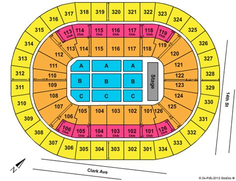 scottrade center seating rows scottrade center seating chart tickets events and schedule