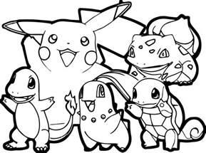 pokemon traits epais coloriages pokemon coloriages pour enfants