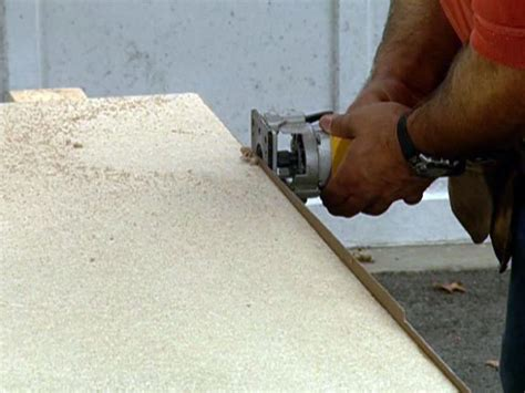 Cutting Laminate Countertop With Jigsaw by How To Build An Upscale Kitchen Island How Tos Diy