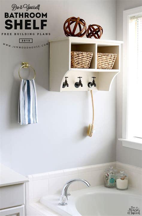 Diy Network Bathroom Ideas by 28 Awesome Diy Bathroom Shelves Ideas Eyagci