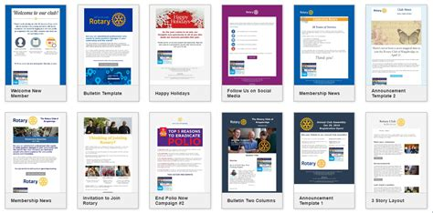 Clubrunner S Blogspot Get The Most Out Of Clubrunner This Year Rotary Bulletin Templates