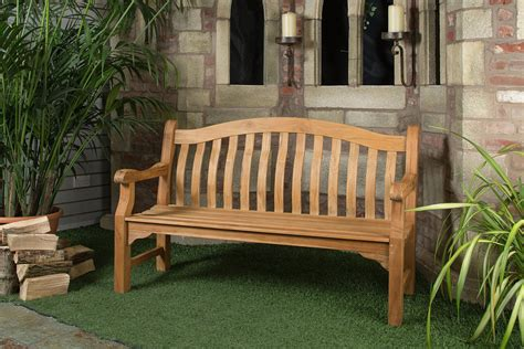 teak outdoor benches sale 4ft solid teak tenbury garden bench fsc teak hardwood