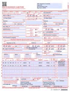 free cms 1500 form template health insurance claim form 1500 free