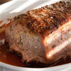 cocinar lomo de cerdo entero cerdo al horno recetas de allrecipes