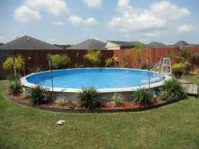 landscaping around a pool how to landscape around an above ground pool inyopools com