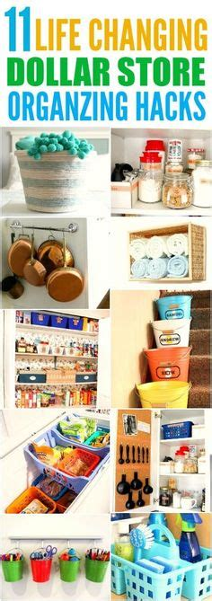 dollar store organization hacks 1000 images about organization storage on pinterest